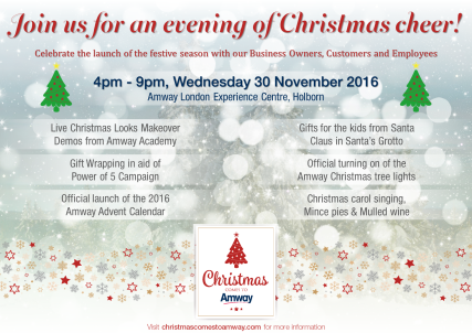 chsistmas-comes-to-amway-event-poster-london